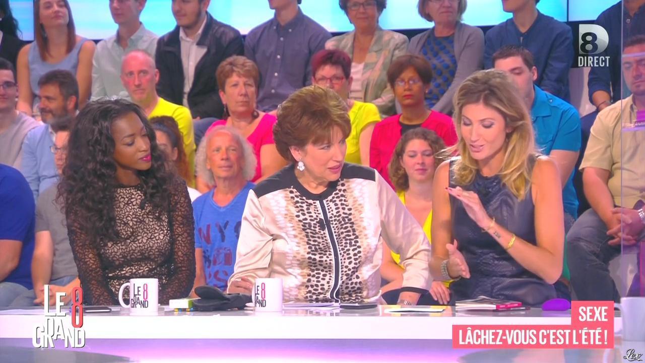 Caroline Ithurbide dans le Grand 8. Diffusé à la télévision le 25/06/15.
