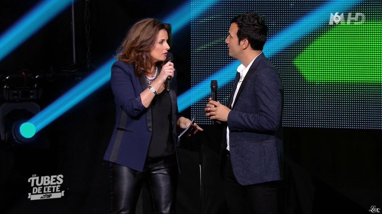 Faustine Bollaert dans les Tubes de l'Ete au Top. Diffusé à la télévision le 19/08/15.