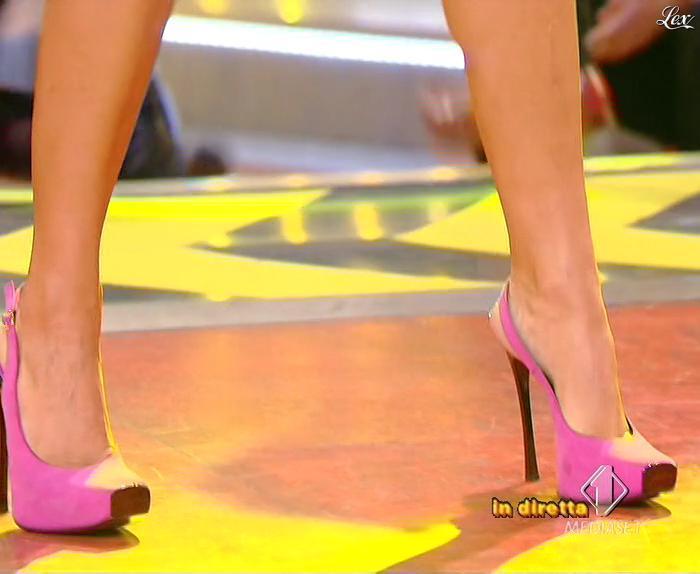 Lola Ponce dans Mai Dire Grande Fratello Show. Diffusé à la télévision le 03/03/09.