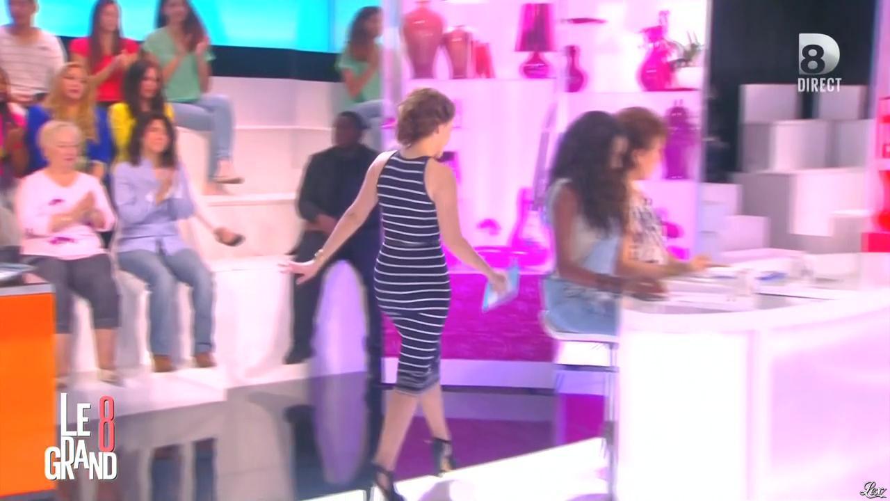 Magali Bertin dans le Grand 8. Diffusé à la télévision le 13/05/15.