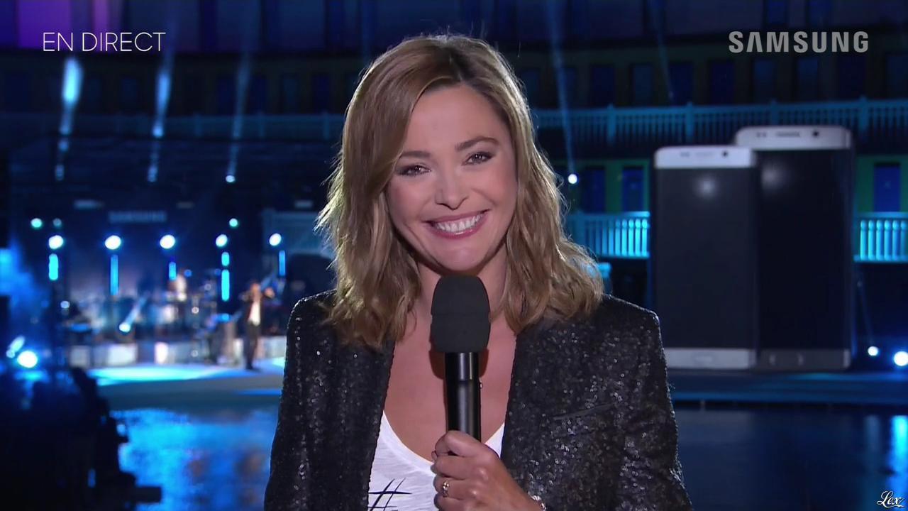 Sandrine Quétier dans New Edge Night. Diffusé à la télévision le 15/09/15.