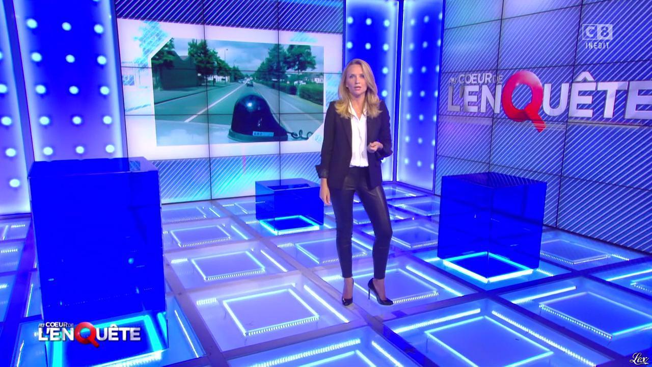 Adrienne de Malleray dans Au Coeur de l'Enquête. Diffusé à la télévision le 01/10/16.