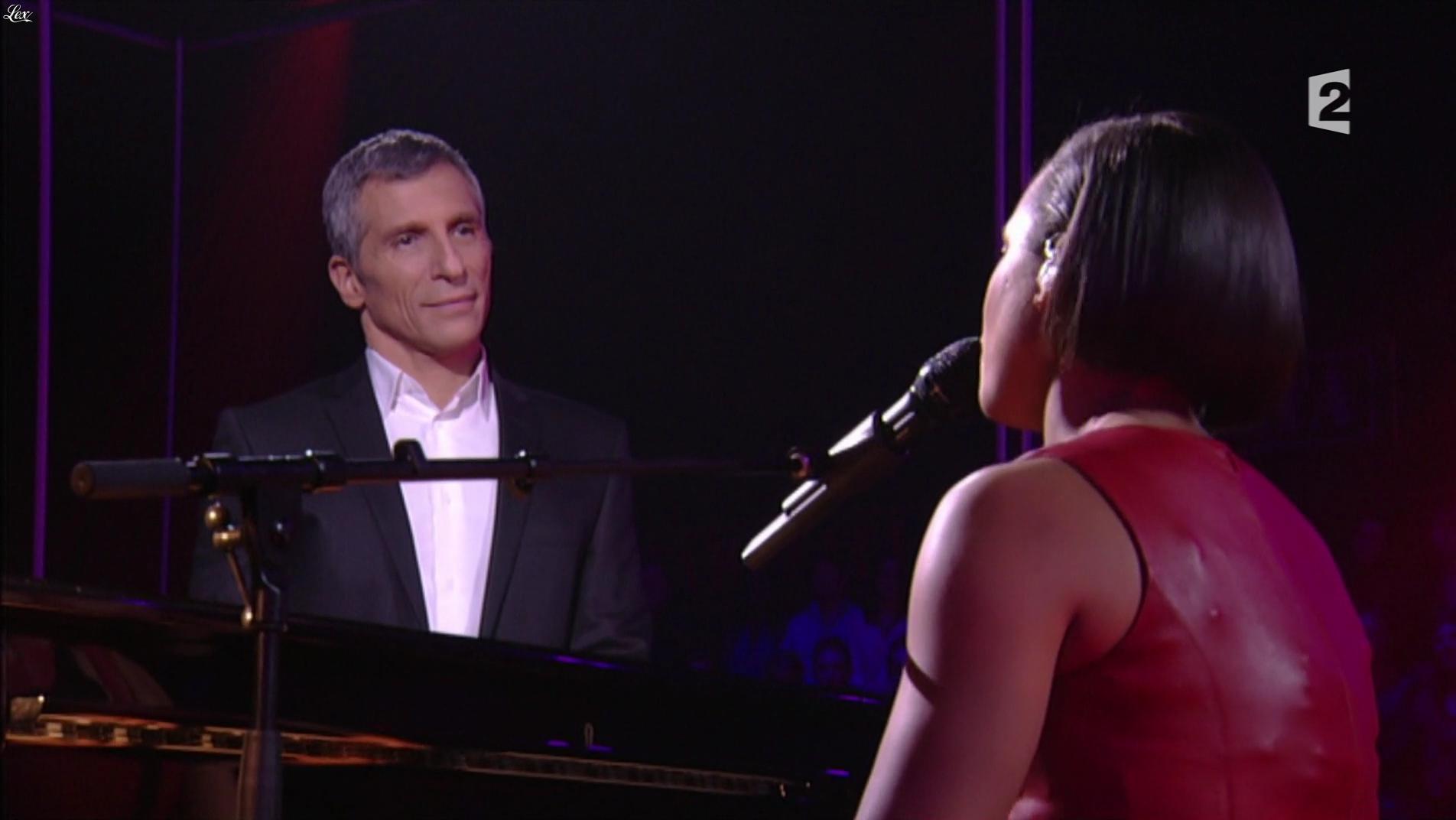 Alicia Keys dans Taratata. Diffusé à la télévision le 30/09/16.