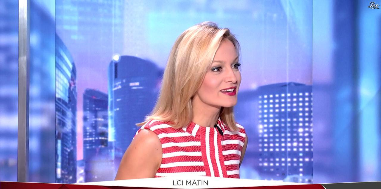Audrey Crespo-Mara dans LCI Matin. Diffusé à la télévision le 09/09/16.
