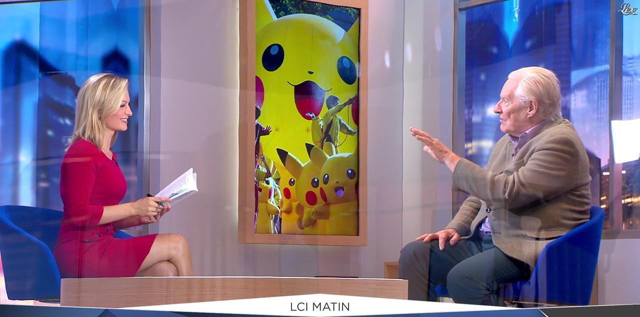 Audrey Crespo-Mara dans LCI Matin. Diffusé à la télévision le 23/09/16.