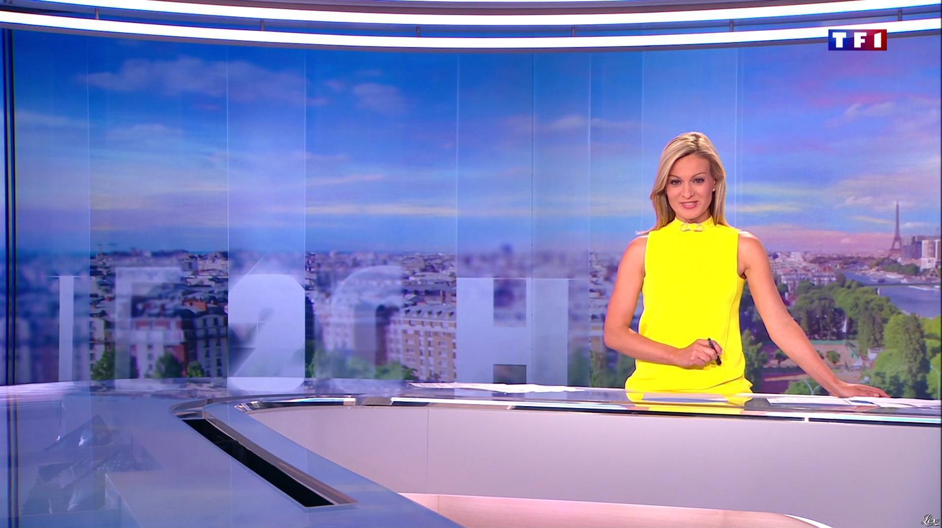 Audrey Crespo-Mara dans le 20h. Diffusé à la télévision le 13/08/16.
