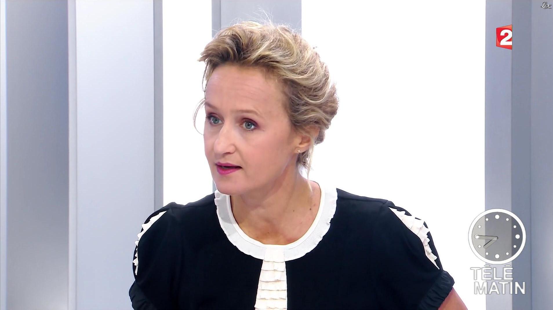 Caroline Roux dans les 4 Vérités. Diffusé à la télévision le 03/10/16.