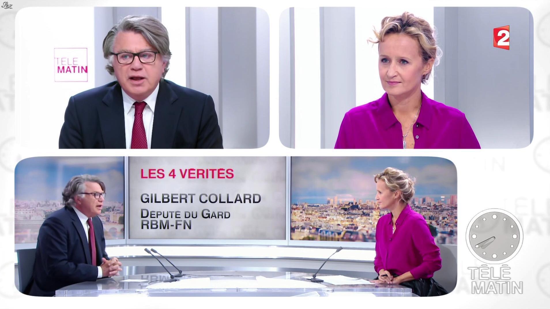 Caroline Roux dans les 4 Vérités. Diffusé à la télévision le 28/09/16.