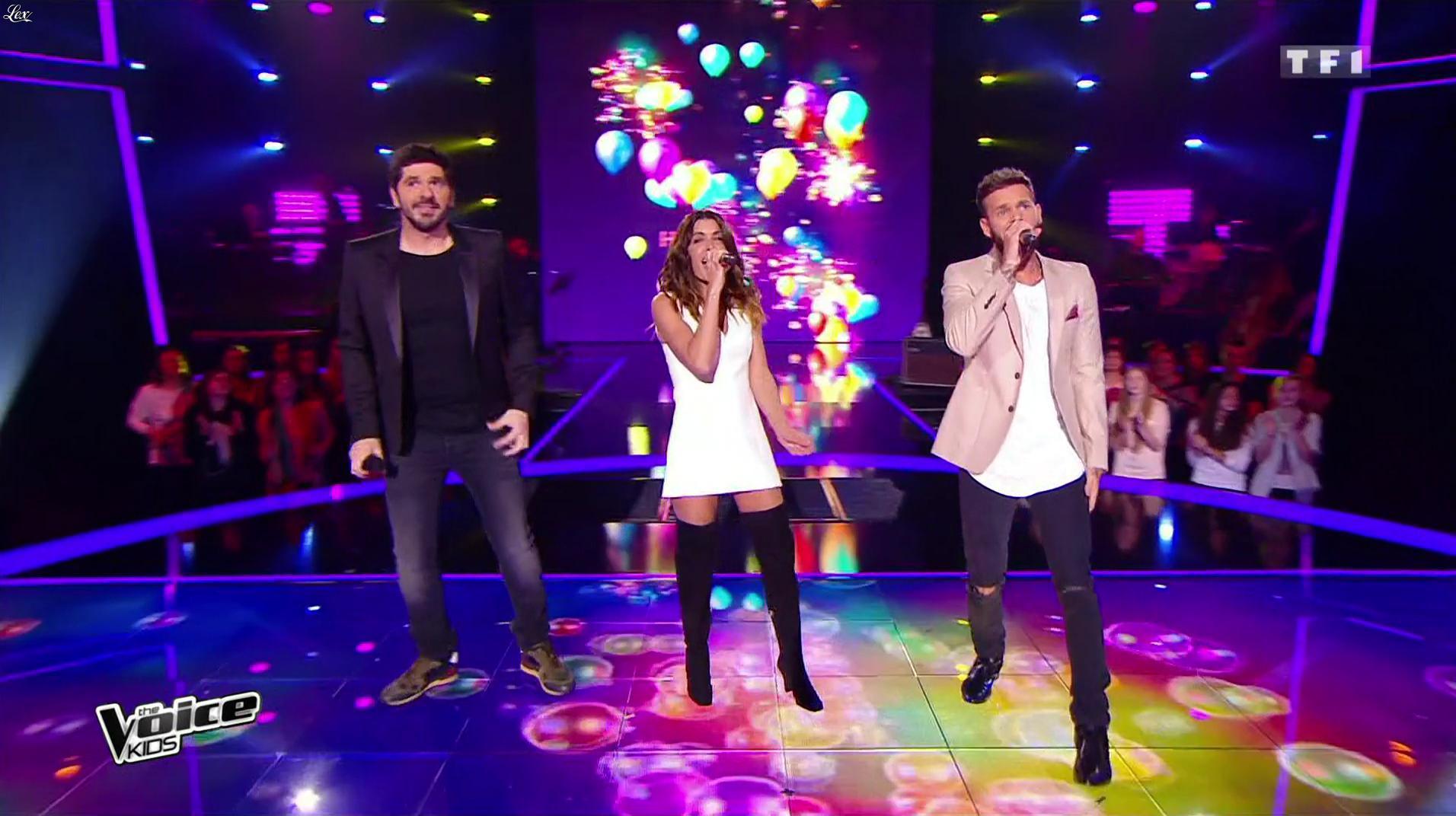 Jenifer Bartoli dans The Voice. Diffusé à la télévision le 01/10/16.