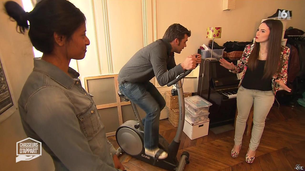 Julie dans Chasseurs d'Appart. Diffusé à la télévision le 16/08/16.