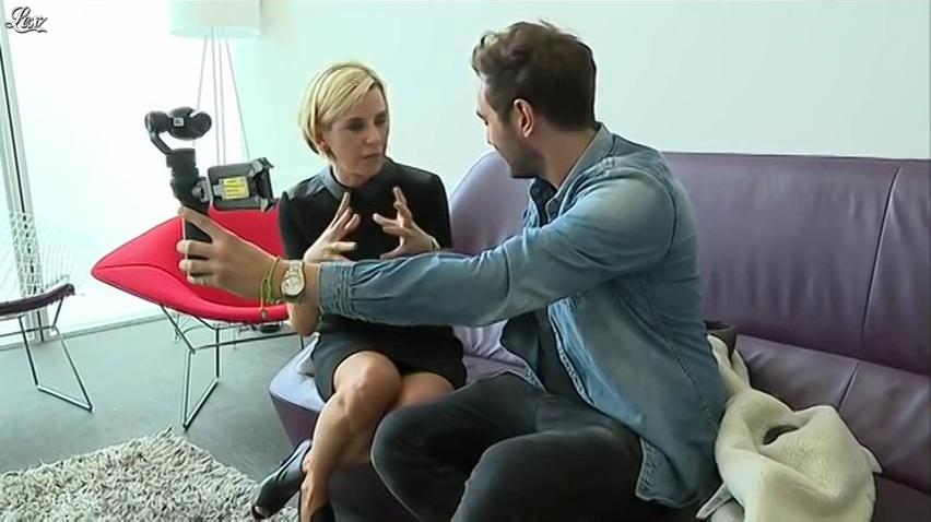Laurence Ferrari dans Interview Punchline sur France Info. Diffusé à la télévision le 04/10/16.