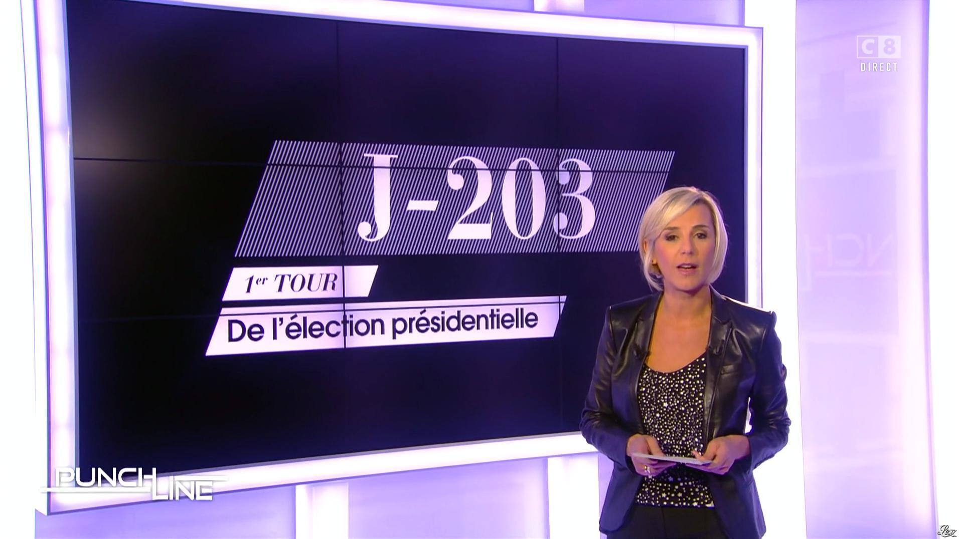 Laurence Ferrari dans Punchline. Diffusé à la télévision le 02/10/16.