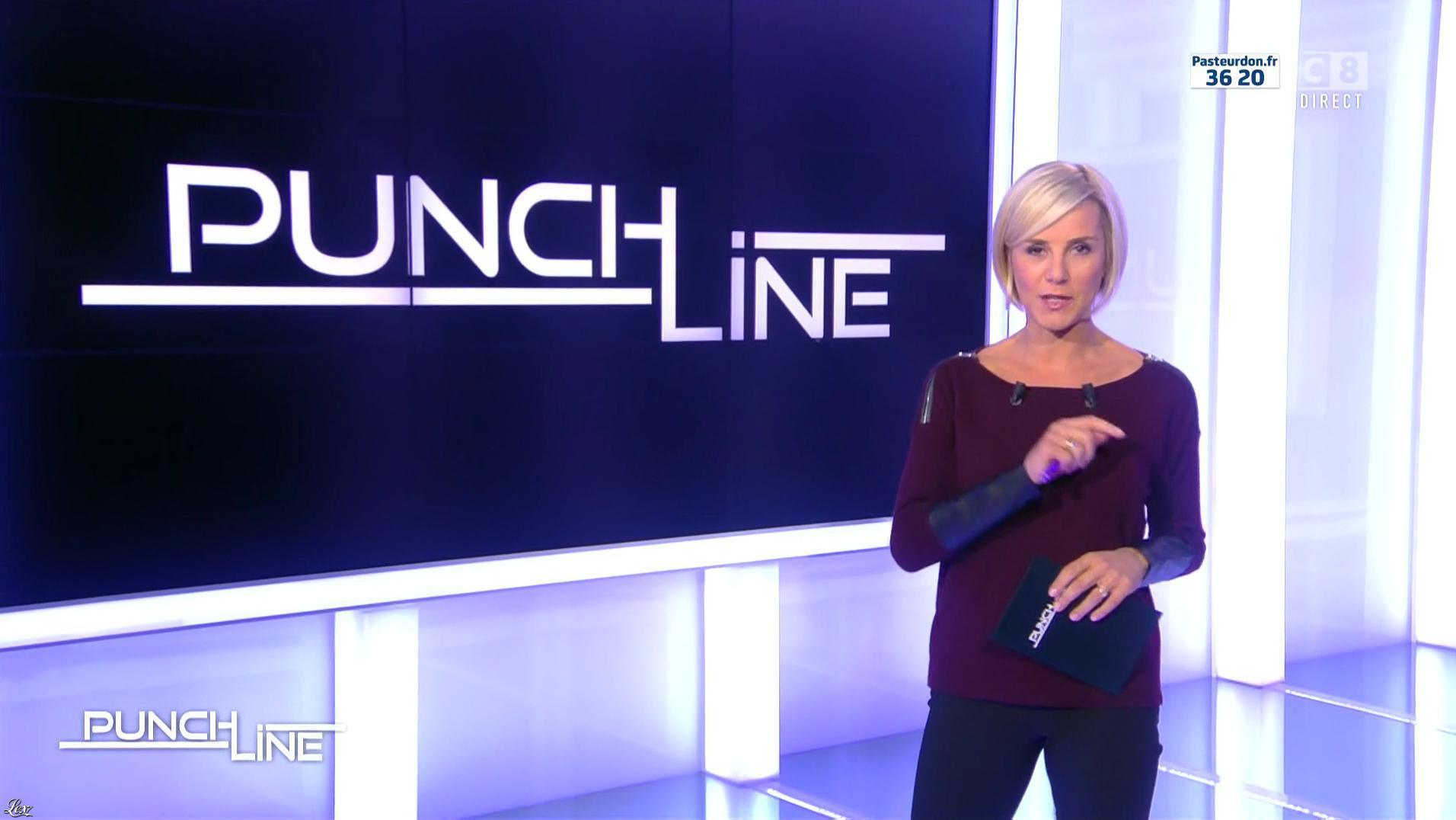 Laurence Ferrari dans Punchline. Diffusé à la télévision le 09/10/16.