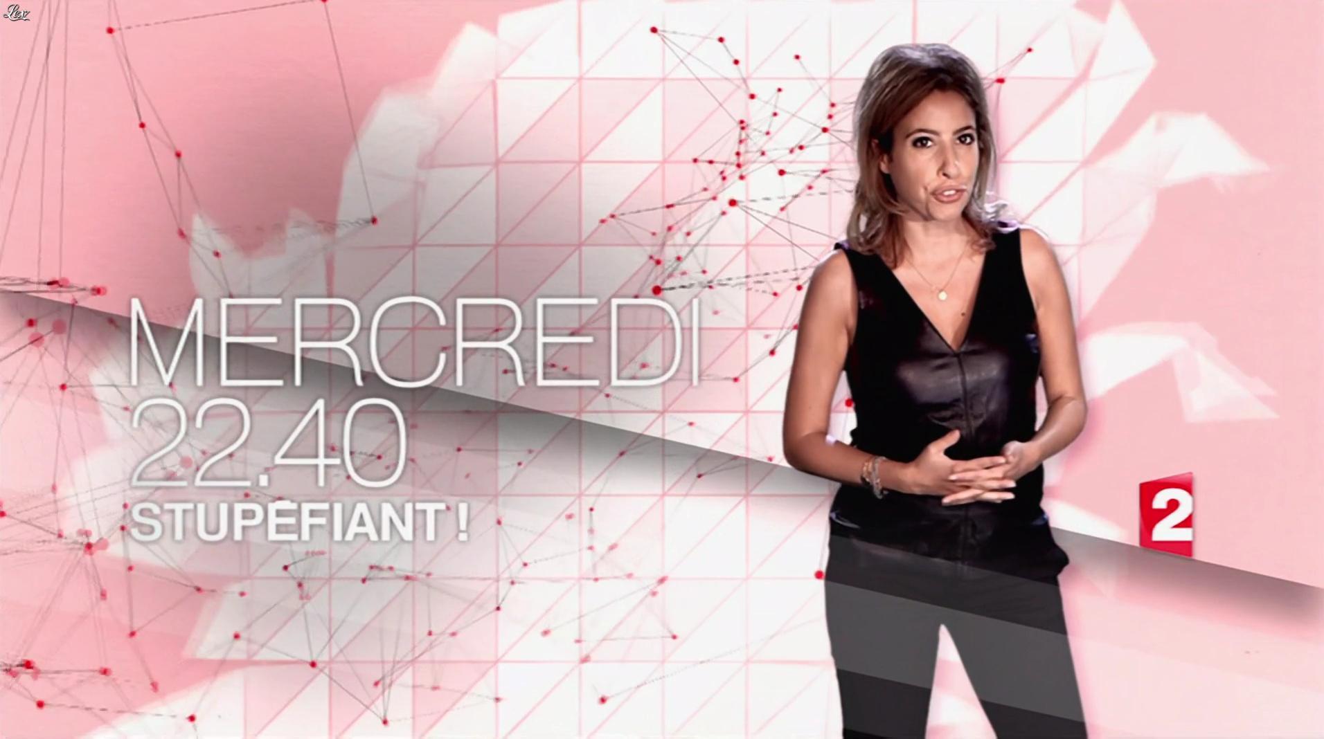 Léa Salamé dans une Bande-Annonce de Stupefiant. Diffusé à la télévision le 24/09/16.