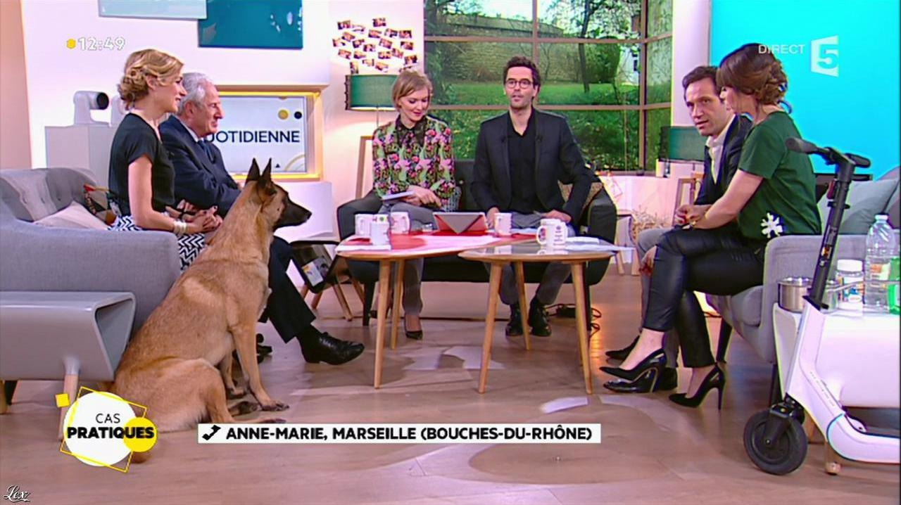 Mélanie Taravant dans la Quotidienne. Diffusé à la télévision le 03/02/16.