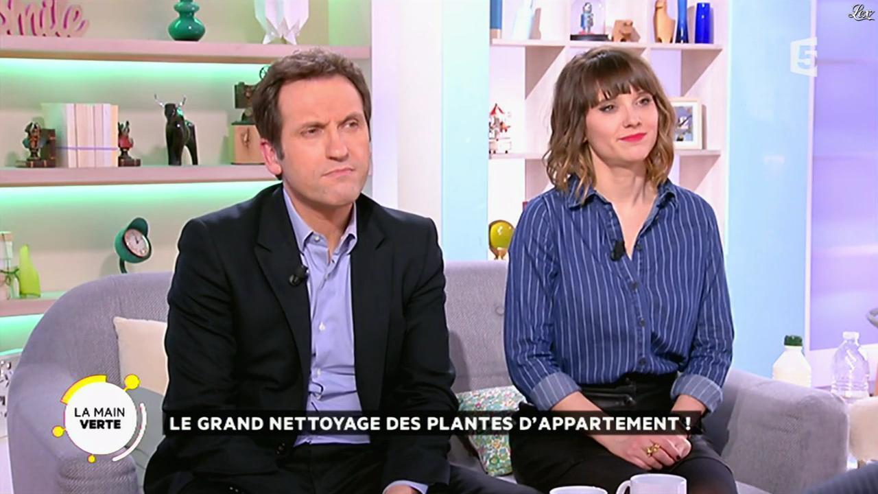 Mélanie Taravant dans la Quotidienne. Diffusé à la télévision le 04/03/16.
