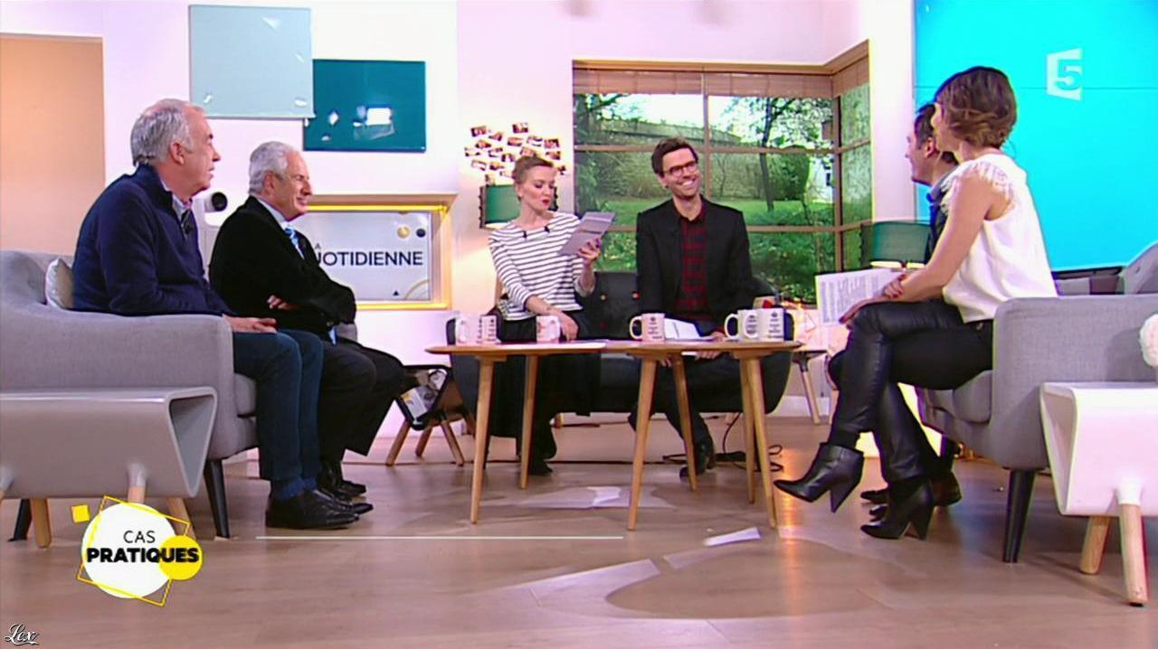 Mélanie Taravant dans la Quotidienne. Diffusé à la télévision le 08/01/16.