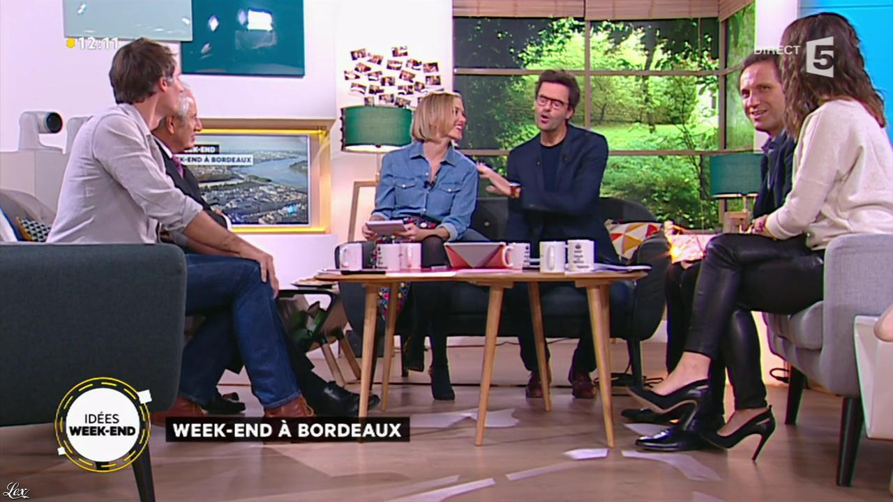 Mélanie Taravant dans la Quotidienne. Diffusé à la télévision le 22/10/15.