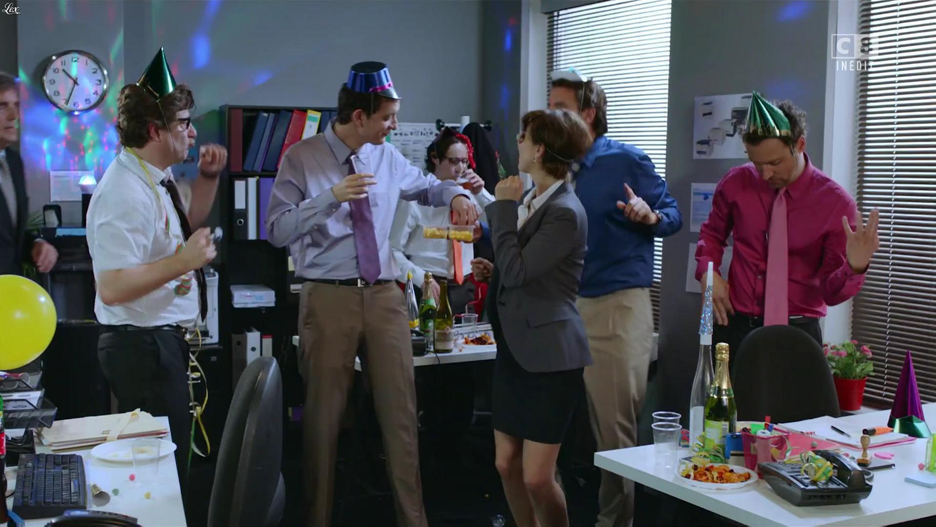 Sixtine Aupetit dans la Folle Soirée du Palma Show. Diffusé à la télévision le 04/10/16.