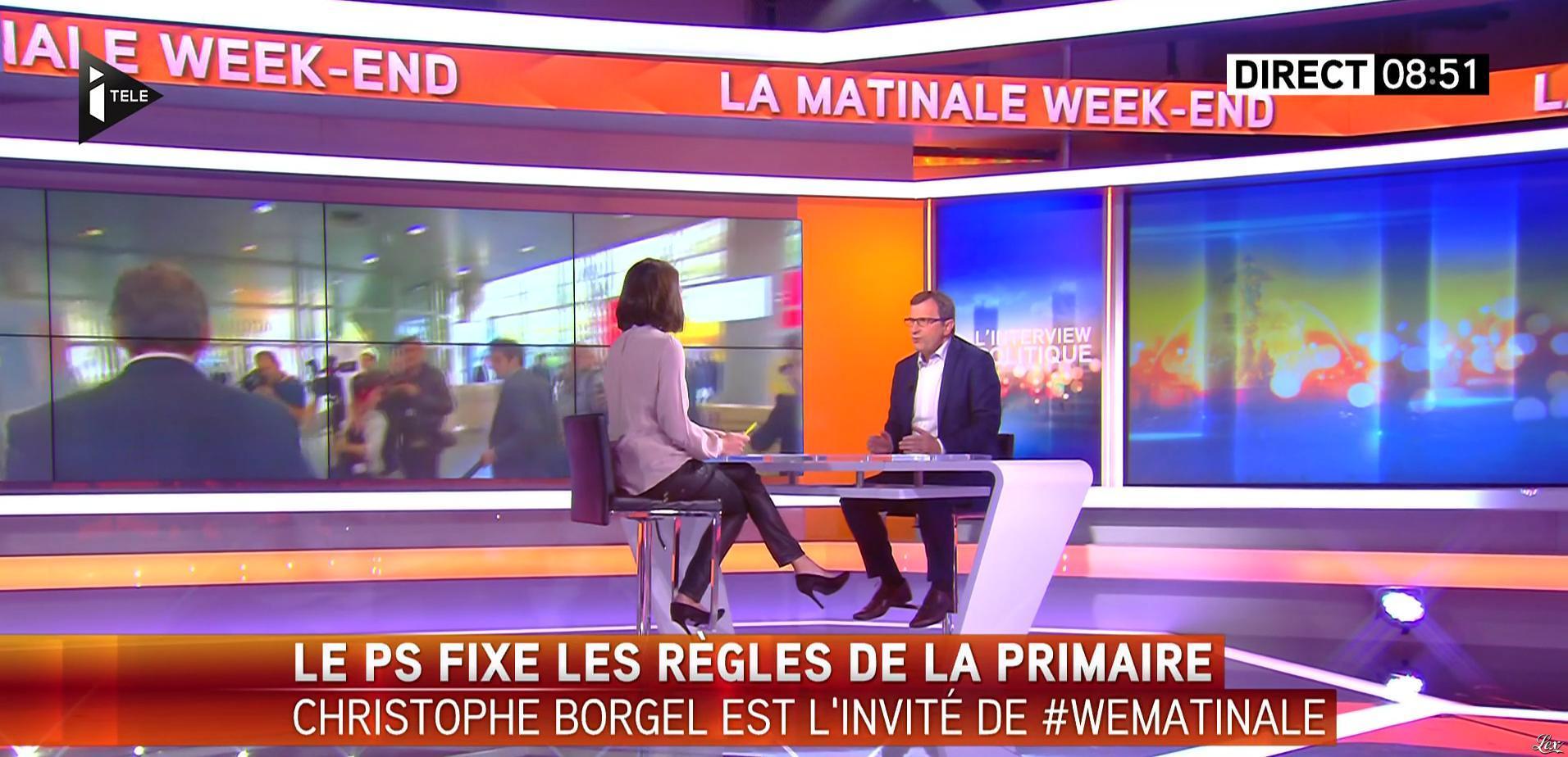 Sonia Chironi dans la Matinale. Diffusé à la télévision le 02/10/16.