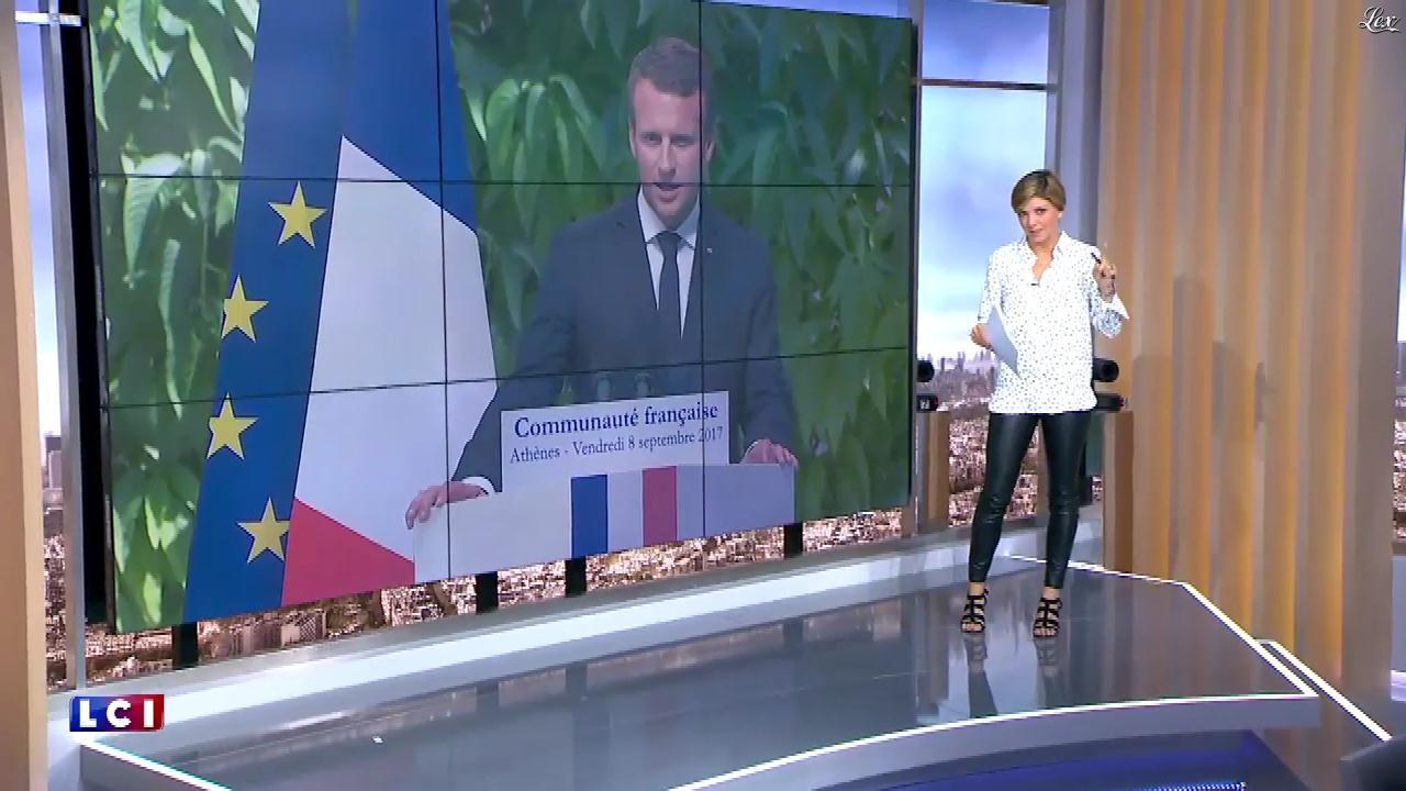 Bénédicte Le Chatelier dans le Brunch. Diffusé à la télévision le 10/09/17.