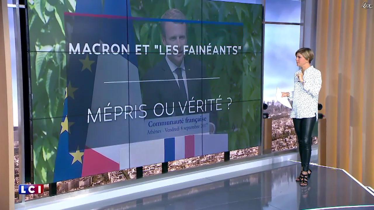 Benedicte Le Chatelier dans le Brunch. Diffusé à la télévision le 10/09/17.