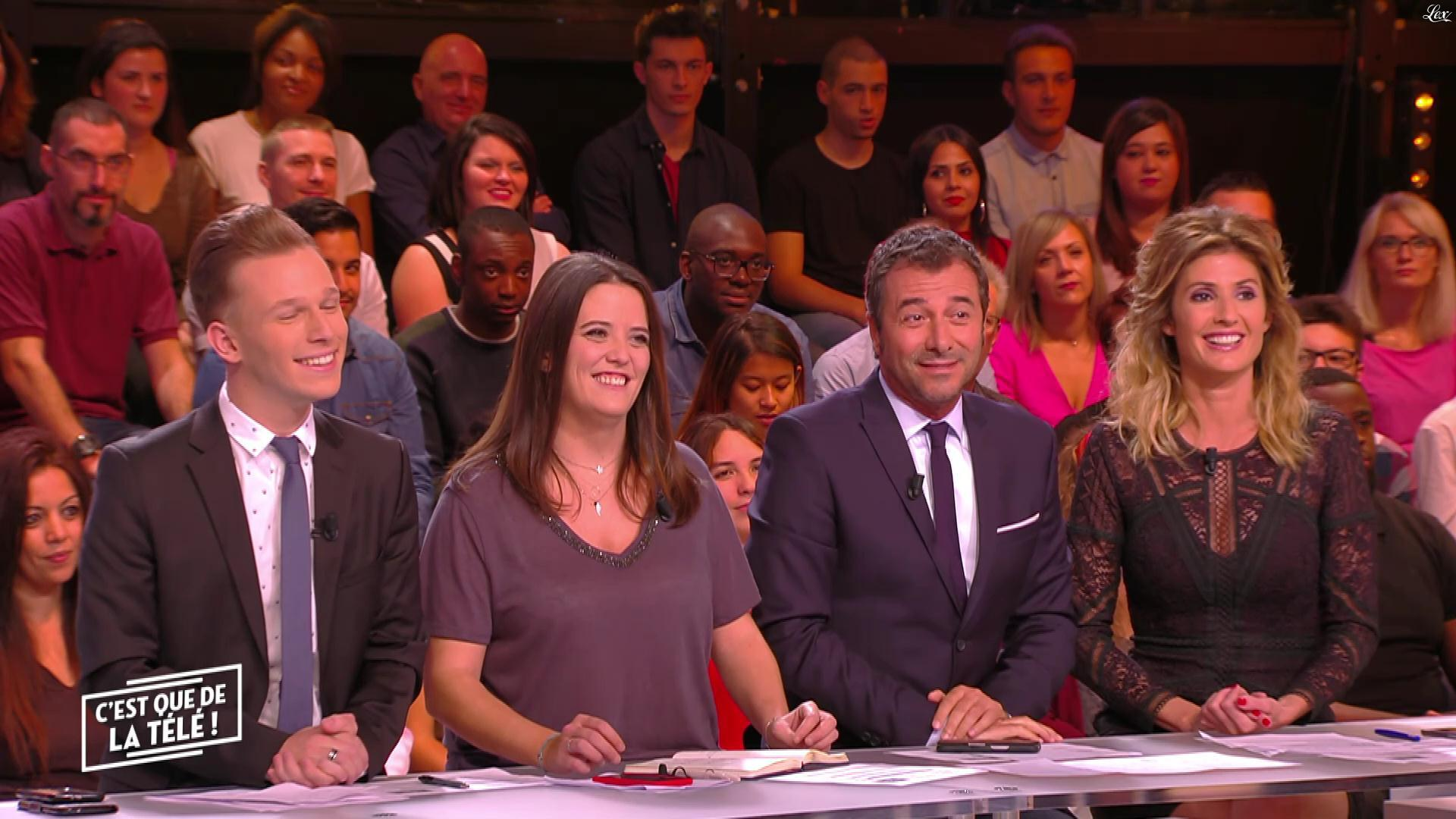 Caroline Ithurbide dans c'est Que de la Télé. Diffusé à la télévision le 18/10/17.