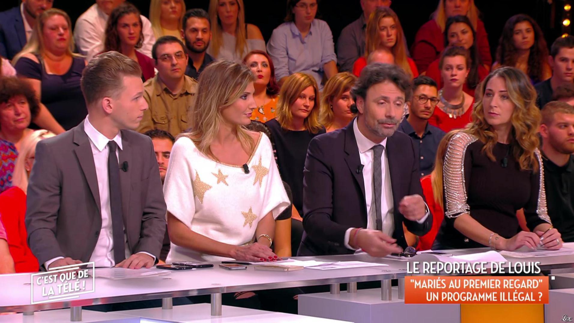 Caroline Ithurbide Dans C Est Que De La Tele 19 10 17 02
