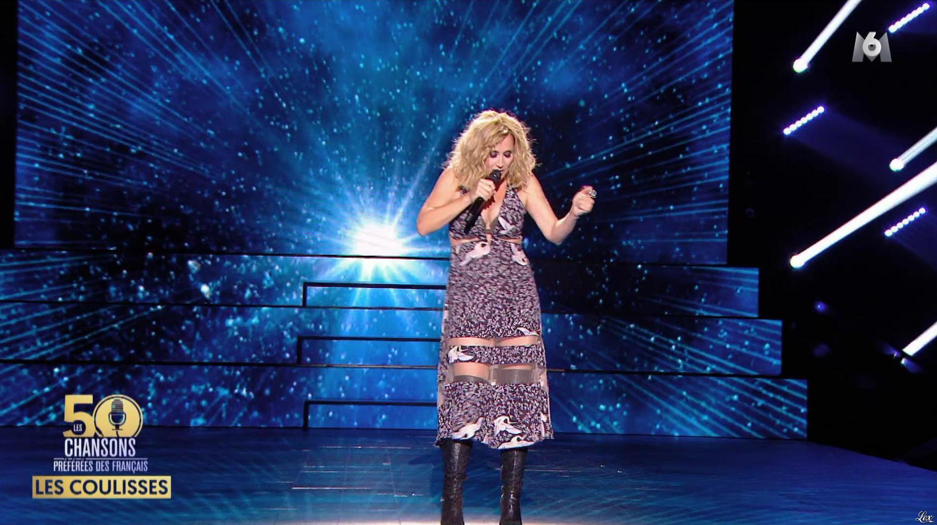 Lara Fabian dans les 50 Chansons Preferees des Francais. Diffusé à la télévision le 19/10/17.