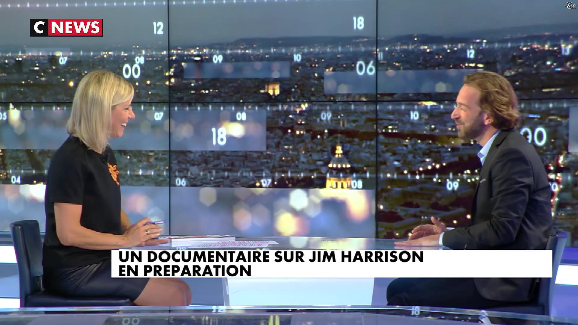 Laurence Ferrari dans le Grand JT. Diffusé à la télévision le 02/10/17.