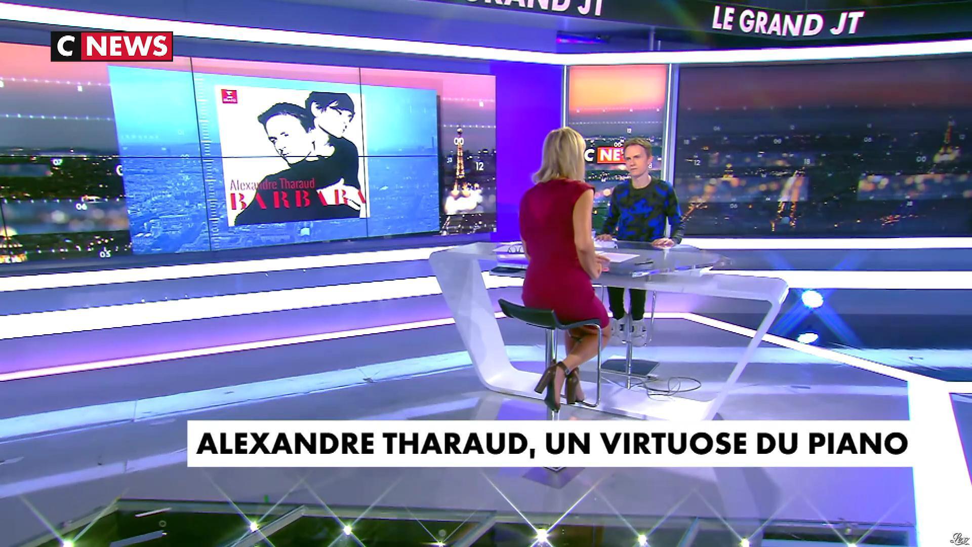 Laurence Ferrari dans le Grand JT. Diffusé à la télévision le 16/10/17.