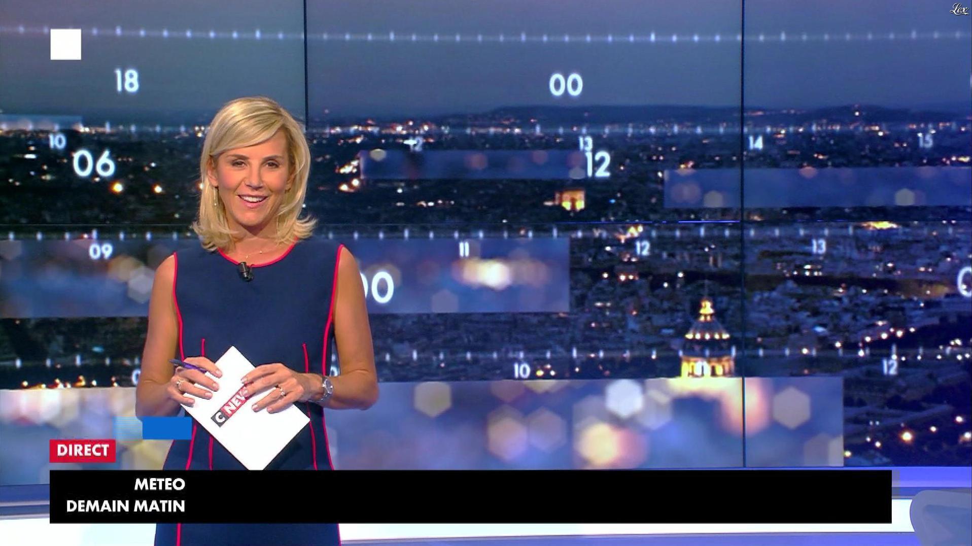 Laurence Ferrari dans Punchline. Diffusé à la télévision le 17/10/17.