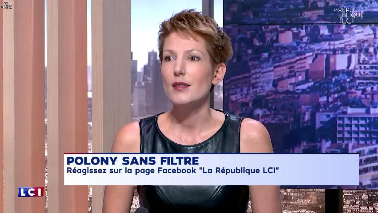 Natacha Polony dans la Republique LCI. Diffusé à la télévision le 05/09/17.