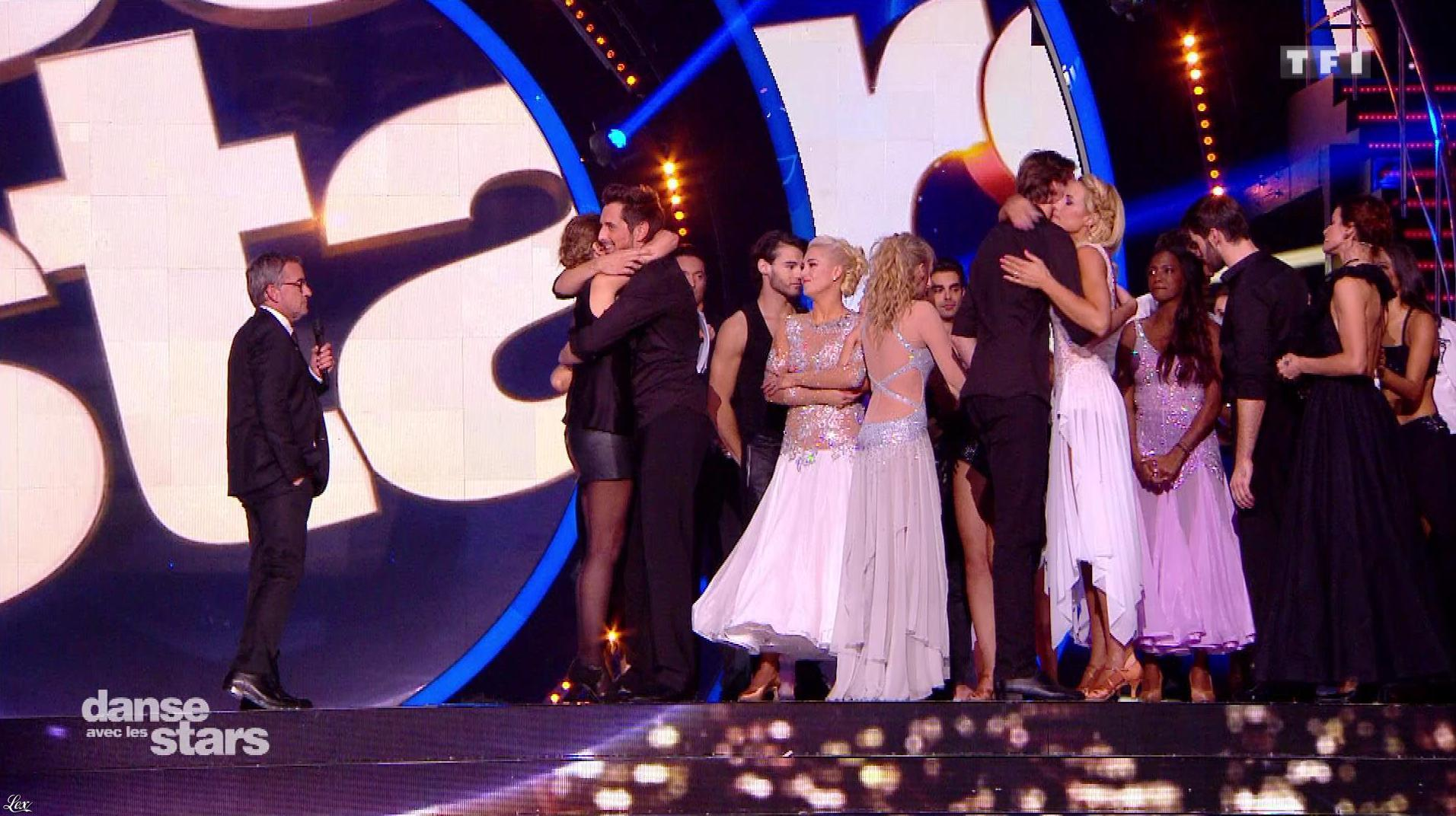 Sandrine Quétier dans Danse avec les Stars. Diffusé à la télévision le 21/10/17.