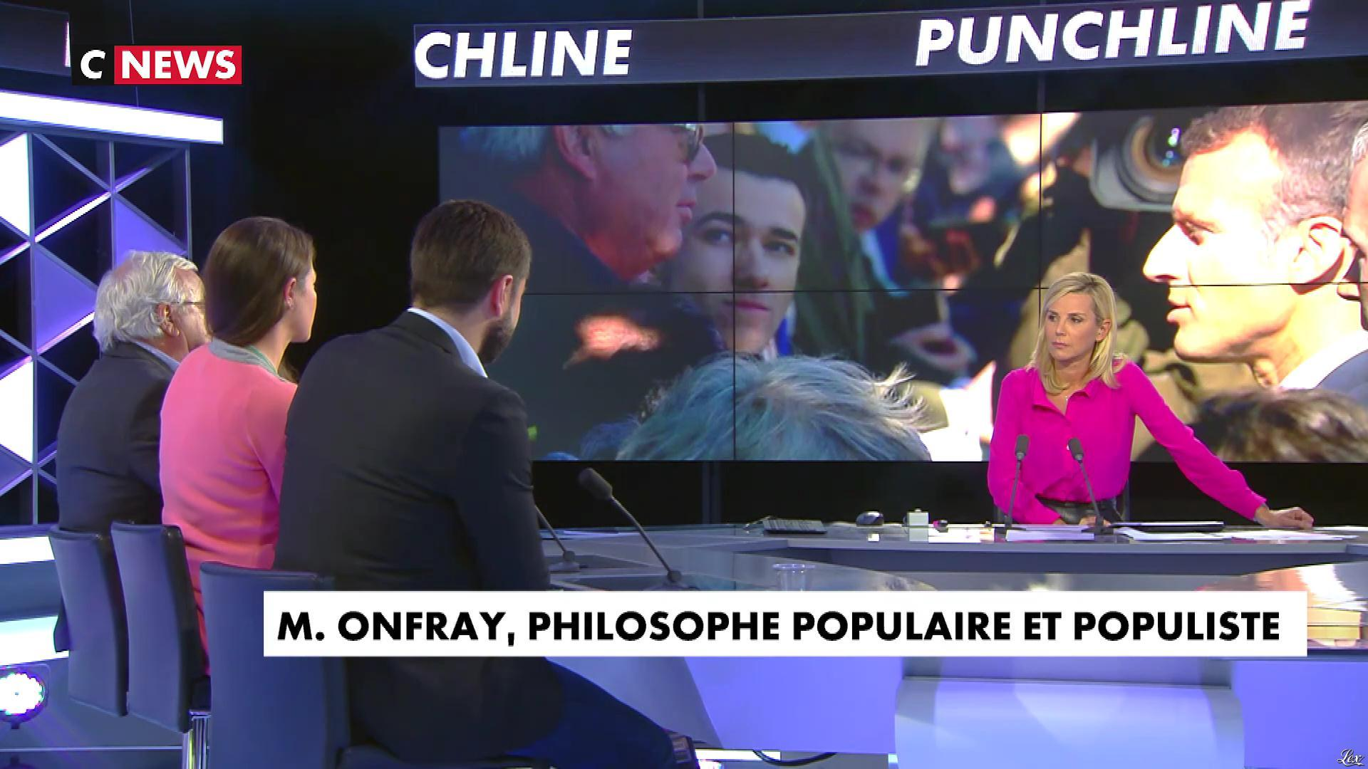 Laurence Ferrari dans Punchline. Diffusé à la télévision le 08/10/18.