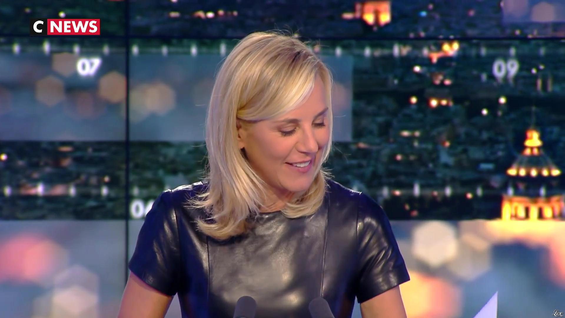 Laurence Ferrari dans Punchline. Diffusé à la télévision le 16/10/18.