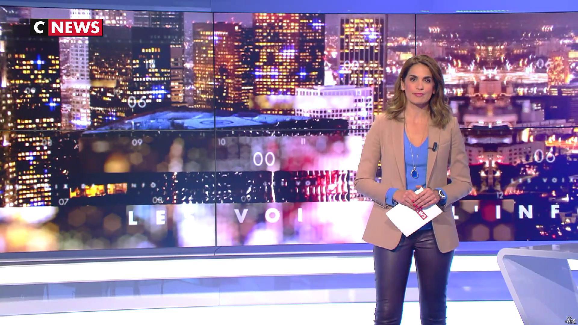 Sonia Mabrouk dans les Voix de l'Info. Diffusé à la télévision le 23/10/18.