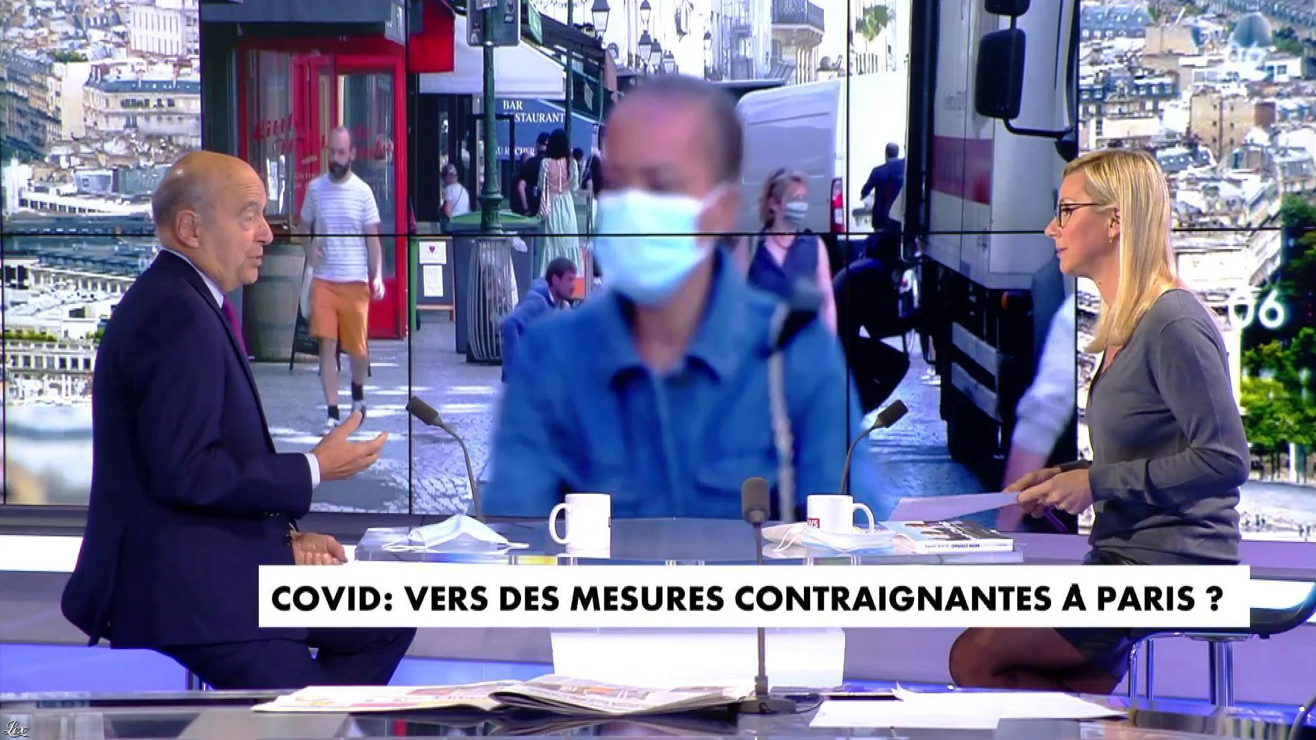 Laurence Ferrari dans l'Interview de Laurence Ferrari. Diffusé à la télévision le 05/10/20.