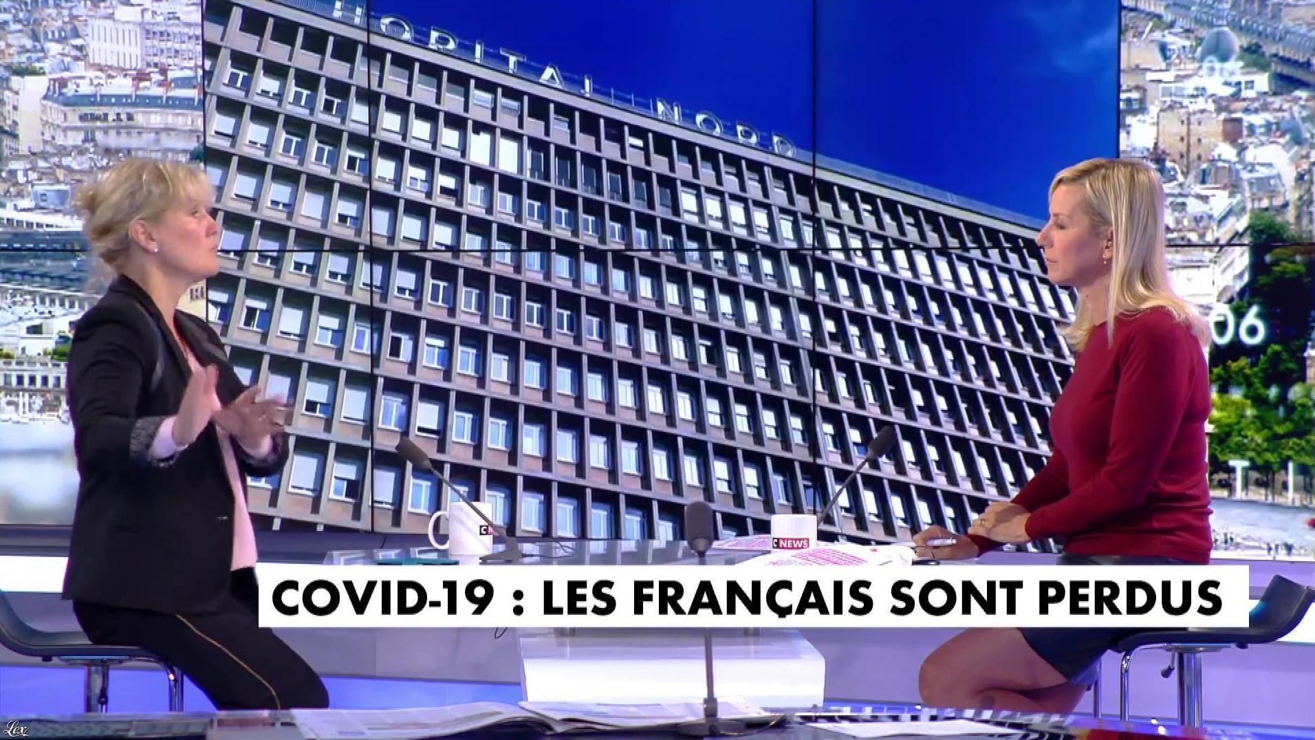 Laurence Ferrari dans l'Interview de Laurence Ferrari. Diffusé à la télévision le 30/09/20.