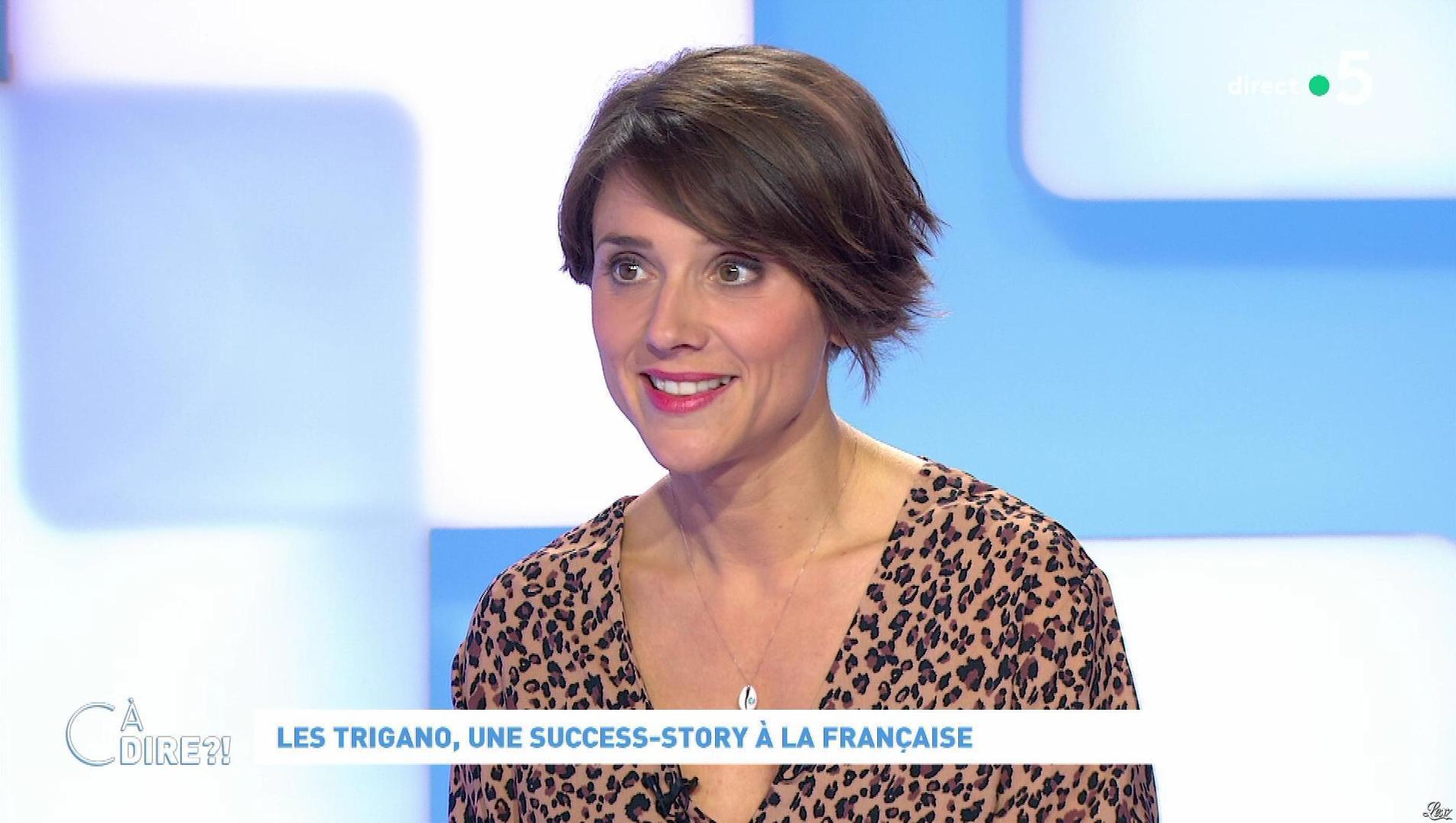 Mélanie Taravant dans C à Dire. Diffusé à la télévision le 08/10/20.