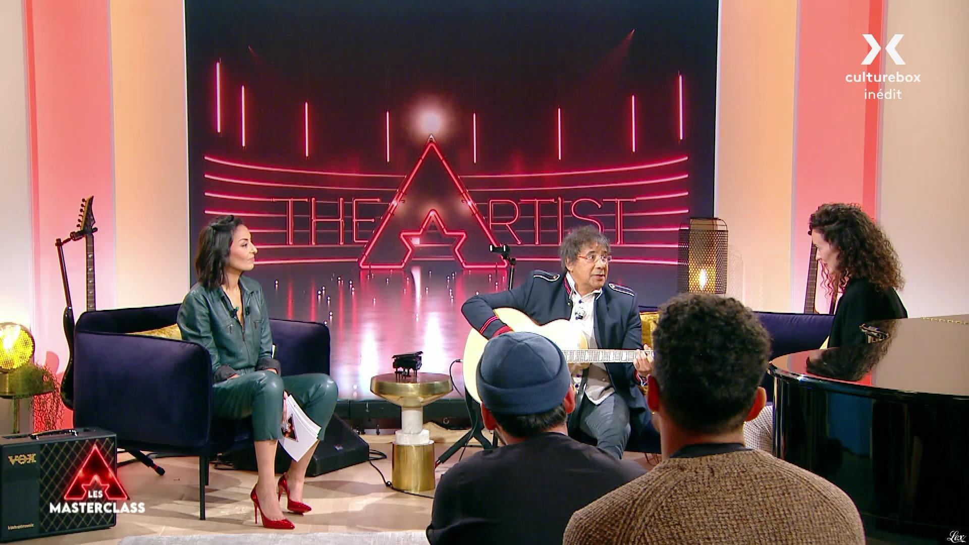 Leïla Kaddour dans The Artist les Masterclass. Diffusé à la télévision le 11/10/21.