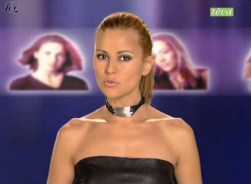 Cécile Simeone dans Top Model USA 2. Diffusé à la télévision le 10/12/04.