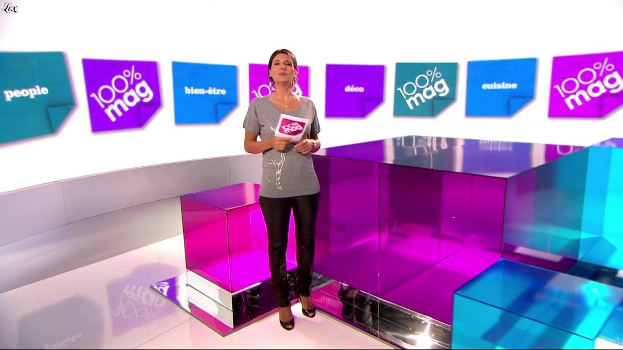 Estelle Denis dans 100 Pour 100 Mag. Diffusé à la télévision le 03/05/11.