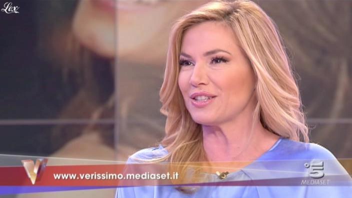 FederiÇa Panicucci dans Verissimo. Diffusé à la télévision le 19/02/11.