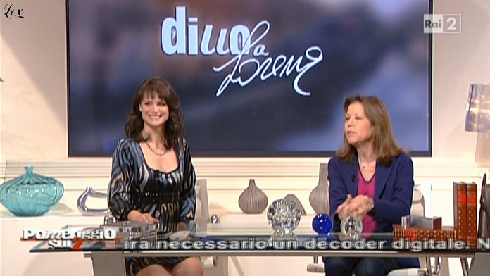Lorena Bianchetti dans Dillo à Lorena. Diffusé à la télévision le 11/11/10.