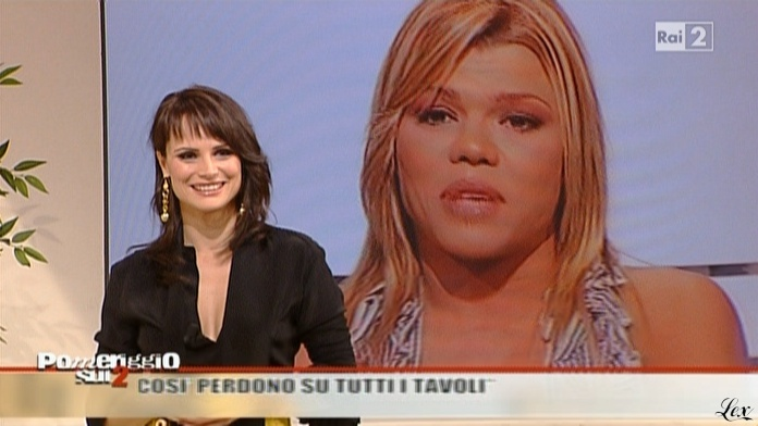 Lorena Bianchetti dans Dillo à Lorena. Diffusé à la télévision le 26/11/10.