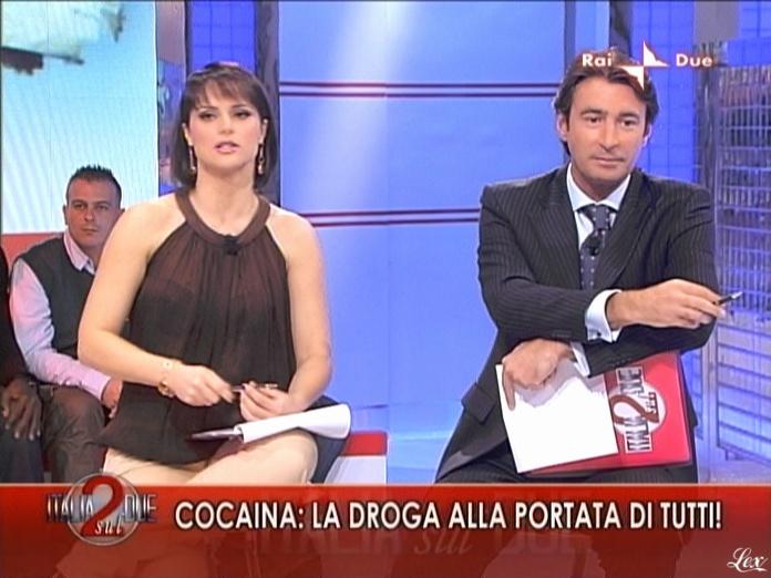 Lorena Bianchetti dans Italia Sul Due. Diffusé à la télévision le 12/11/09.