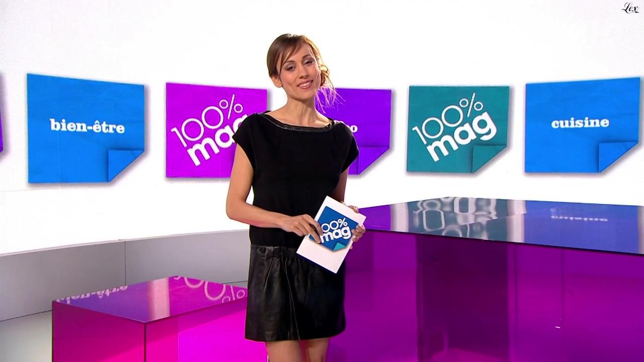 Marie-Ange Casalta dans Cent Pour Cent Mag. Diffusé à la télévision le 19/04/11.