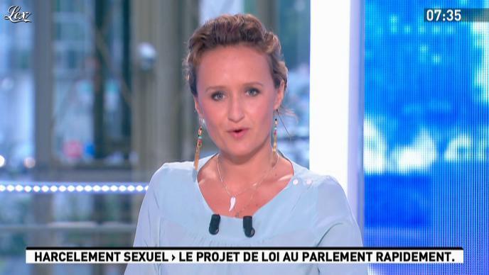 Caroline Roux dans la Matinale. Diffusé à la télévision le 01/06/12.