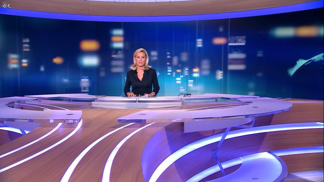 Laurence Ferrari au JT de 20h. Diffusé à la télévision le 21/09/11.